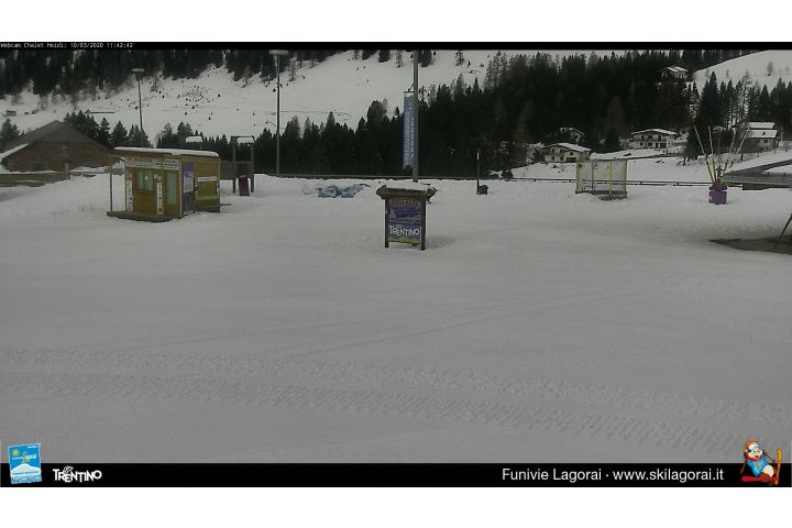 Webcam piste di Passo Brocon, Ski Lagorai - Chalet Heidi