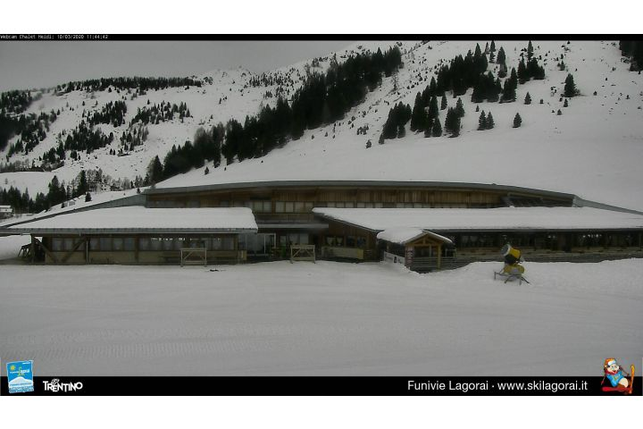 Webcam <br><span> lagorai - passo brocon - chalet heidi</span>