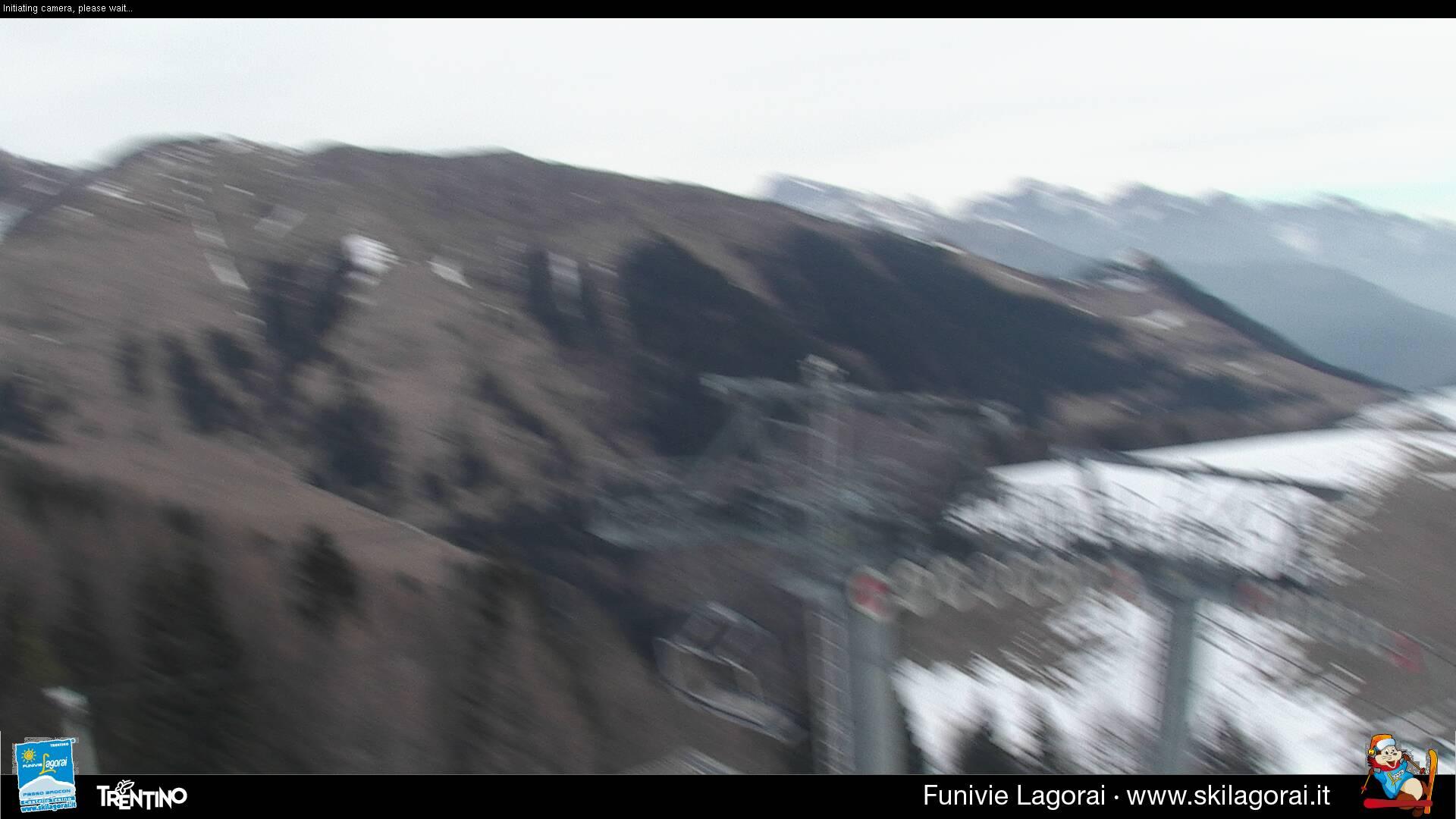 Webcam Lagorai - Passo Passo Brocon pista Valfontane