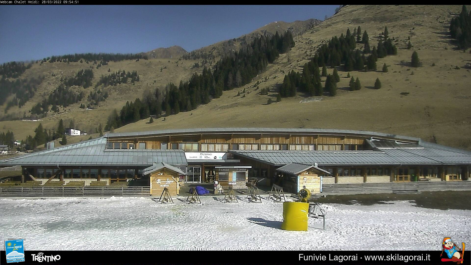 Webcam stazione partenza Passo Brocon