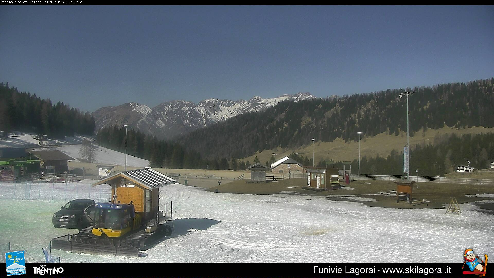 Webcam panorama verso Gruppo del Lagorai