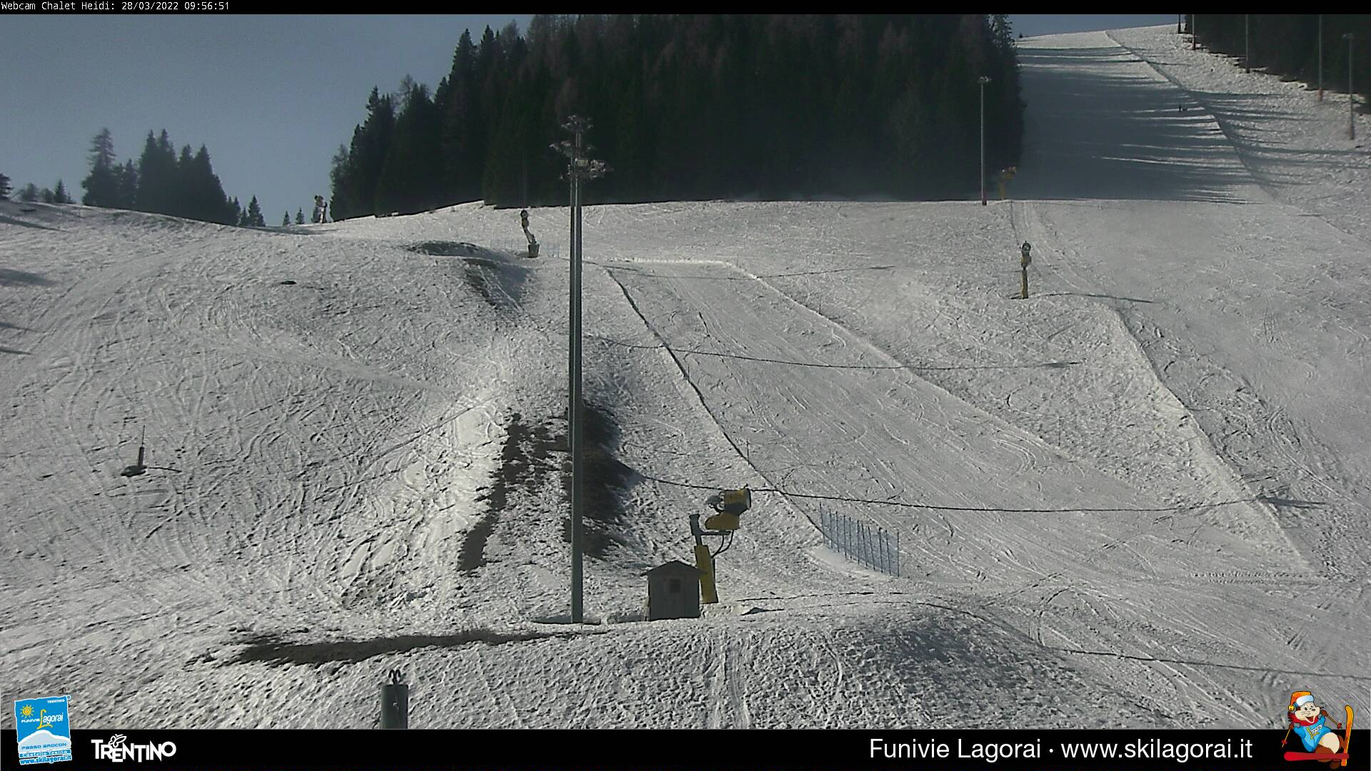 Webcam Neve Passo Brocon