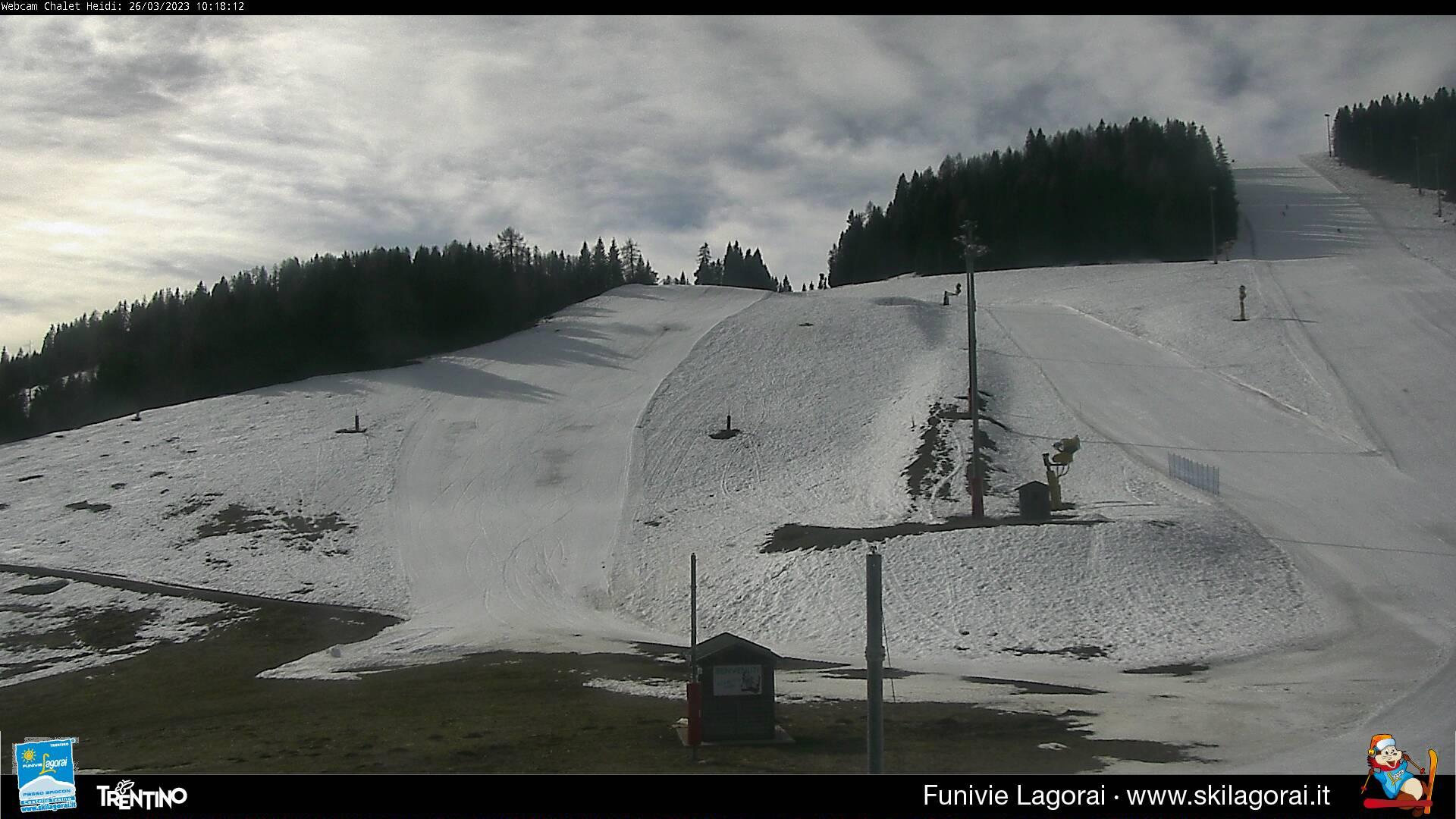 Webcam Snowpark Passo Brocon