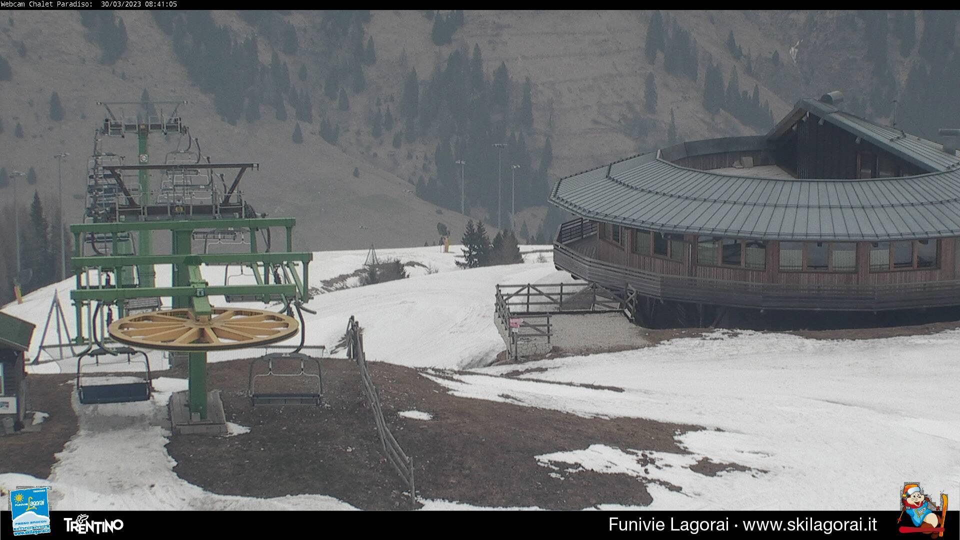Webcam Lagorai - Passo Passo Brocon Panoramica