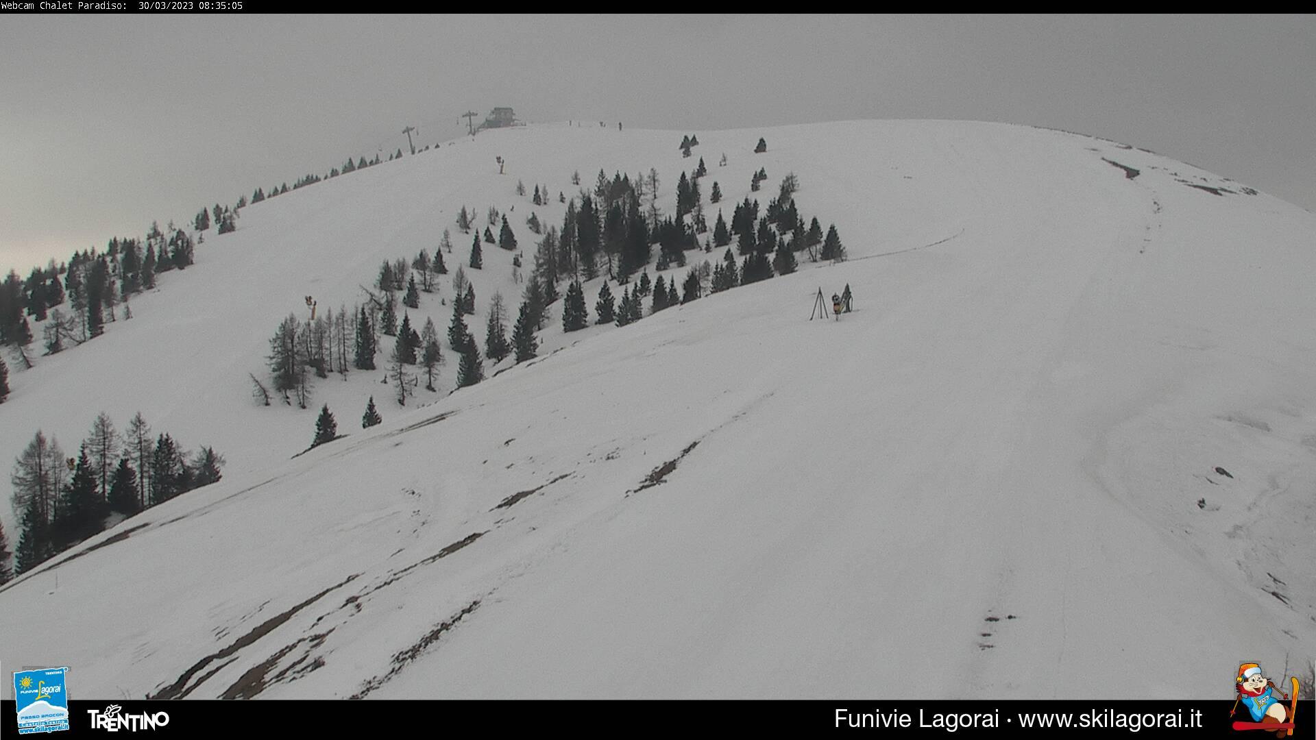 Webcam parte iniziale della pista Paradiso