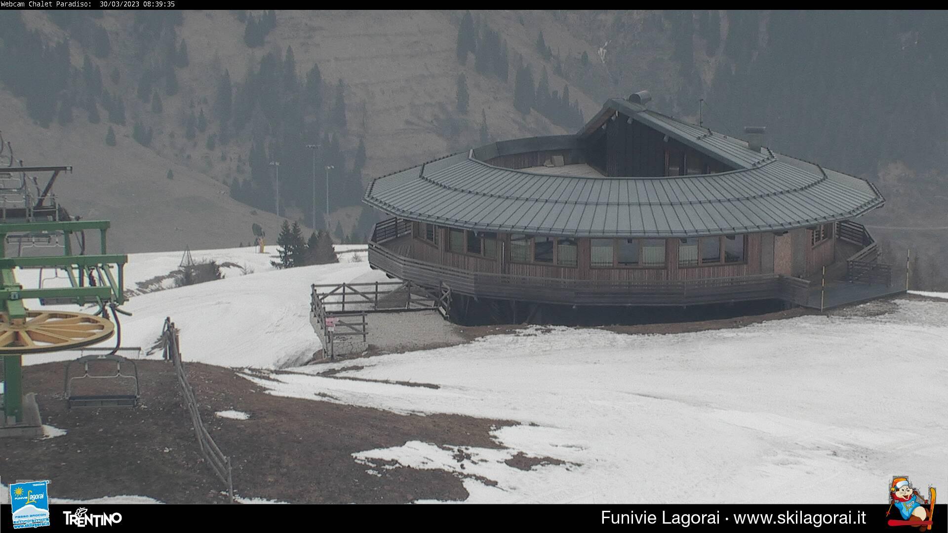 Webcam Rifugio Paradiso 1900m
