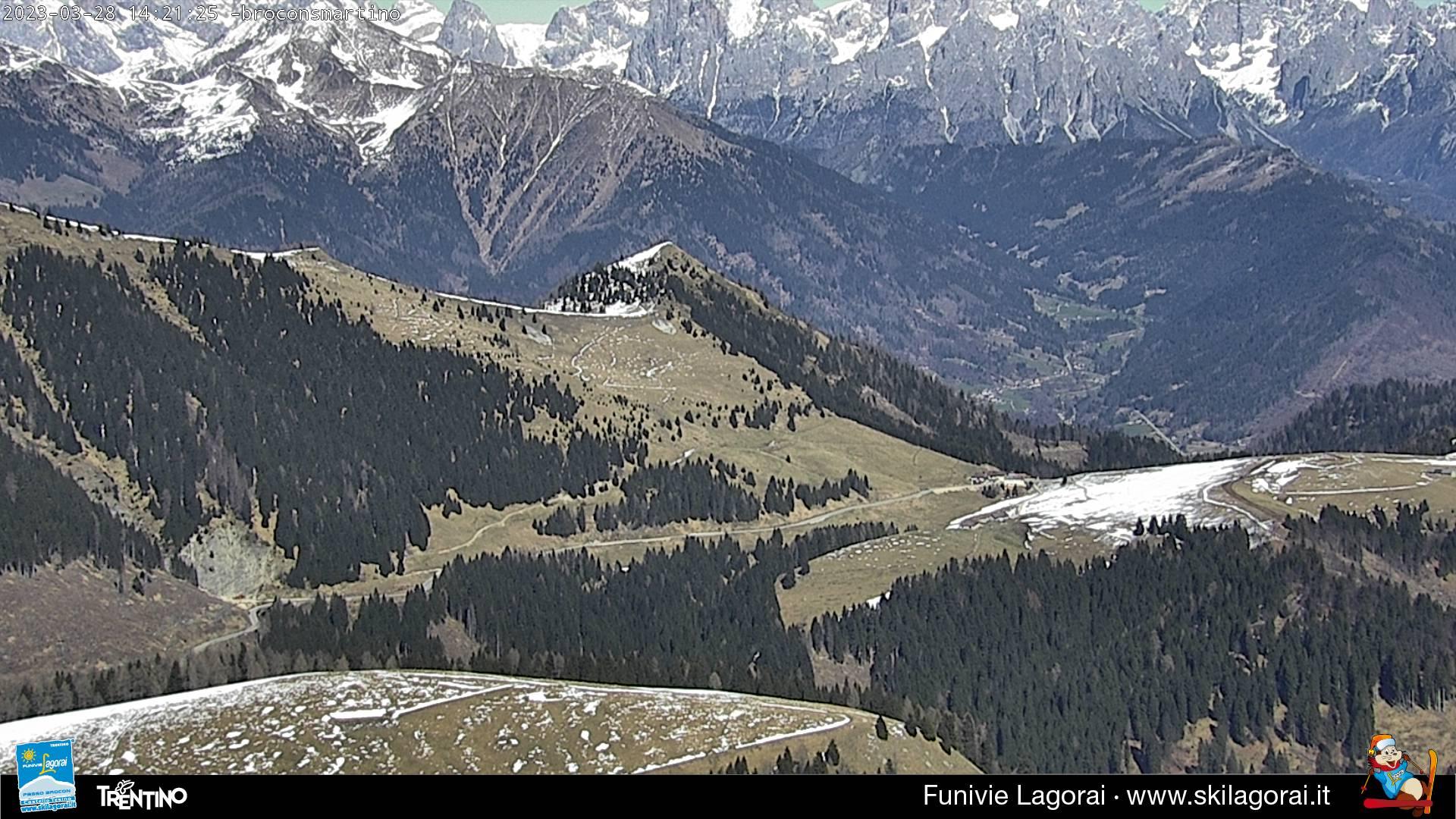 Webcam panorama sul Gruppo delle Pale di S. Martino