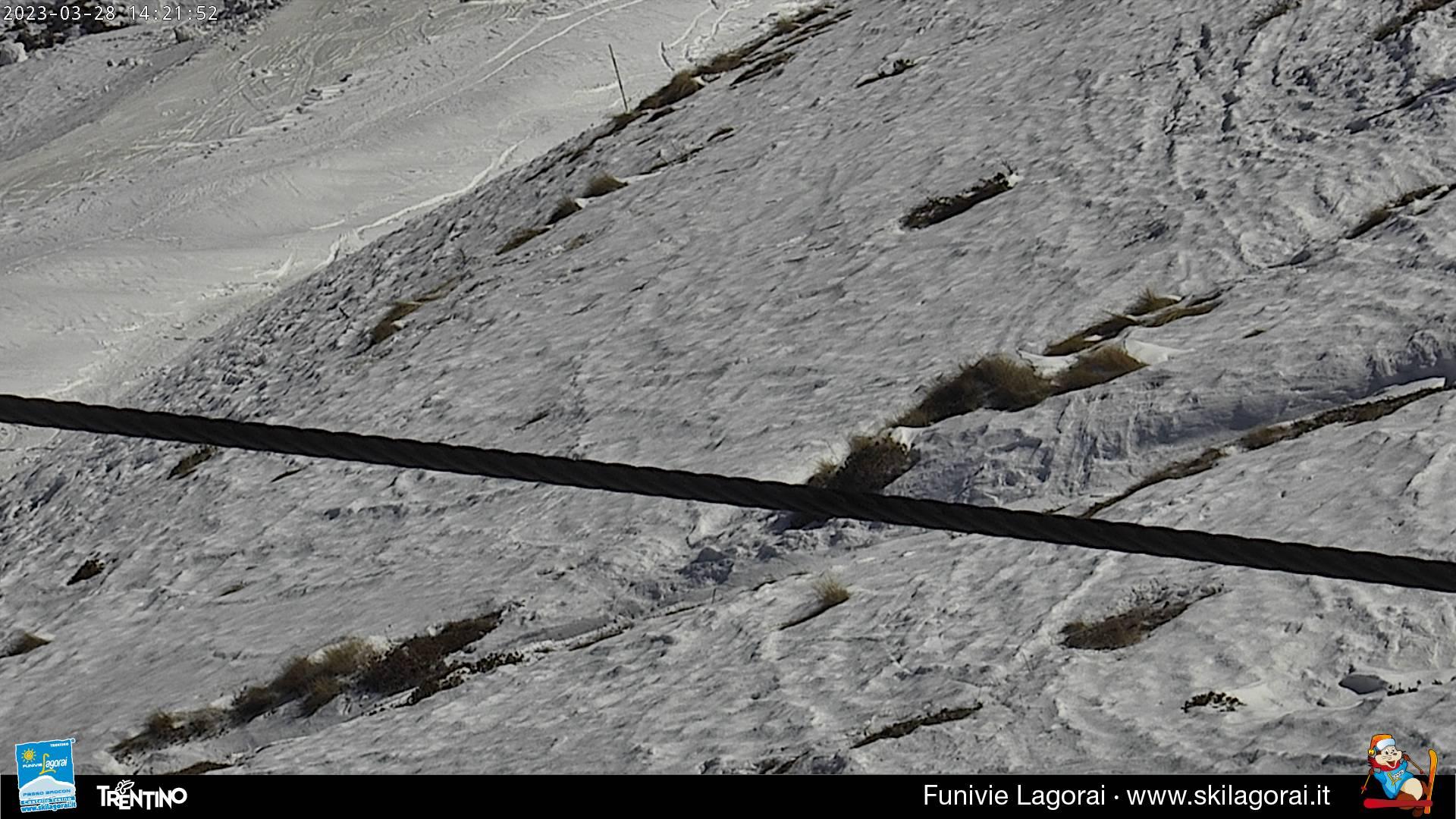 Webcam Lagorai - Passo Passo Brocon Laresé Monte Agaro