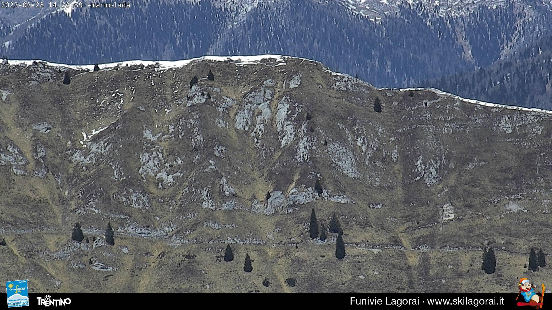 Webcam panorama sul Gruppo della Marmolada