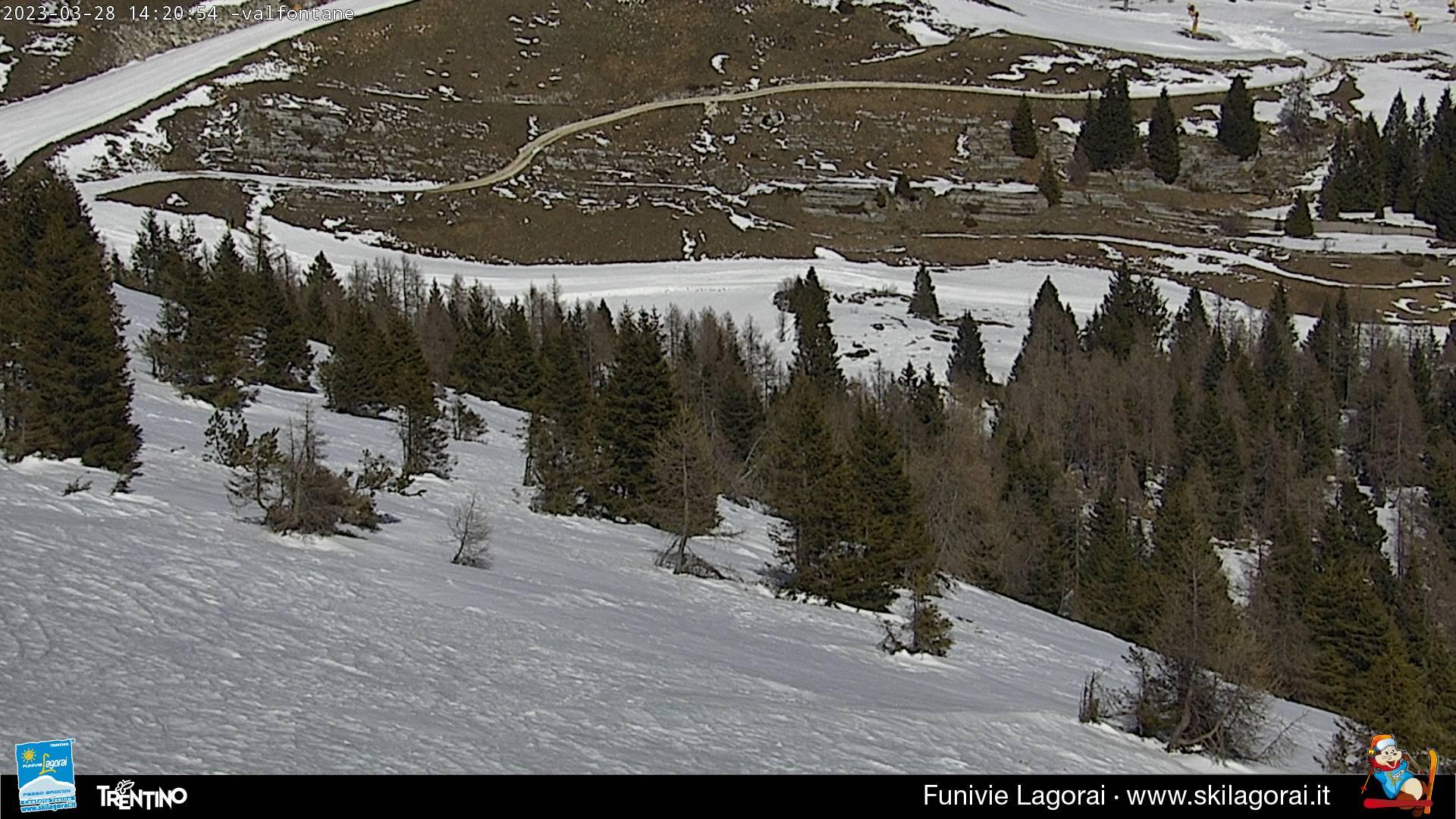 Webcam Monte Agaro Valfontane
