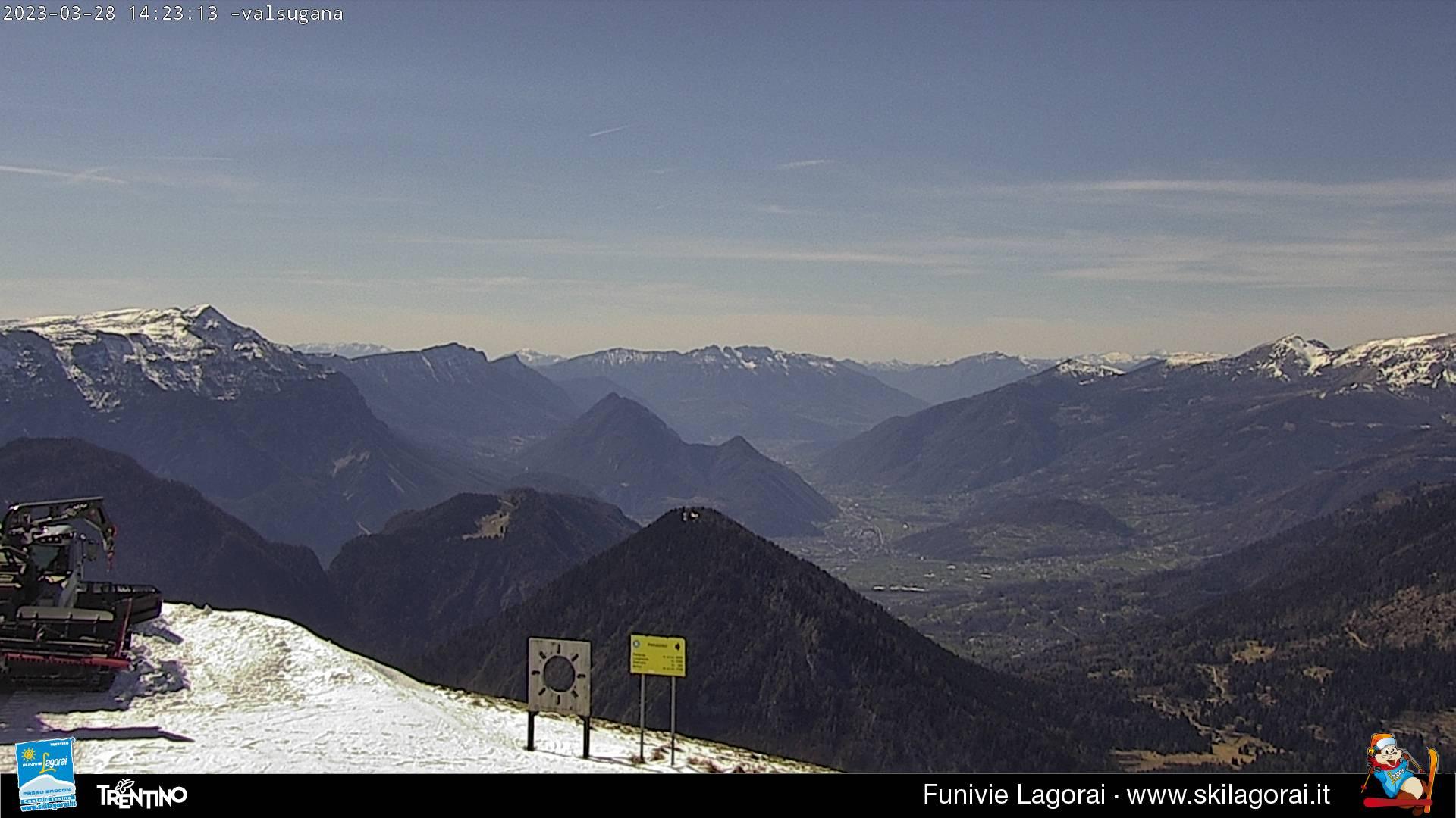 Webcam Monte Agaro Valsugana
