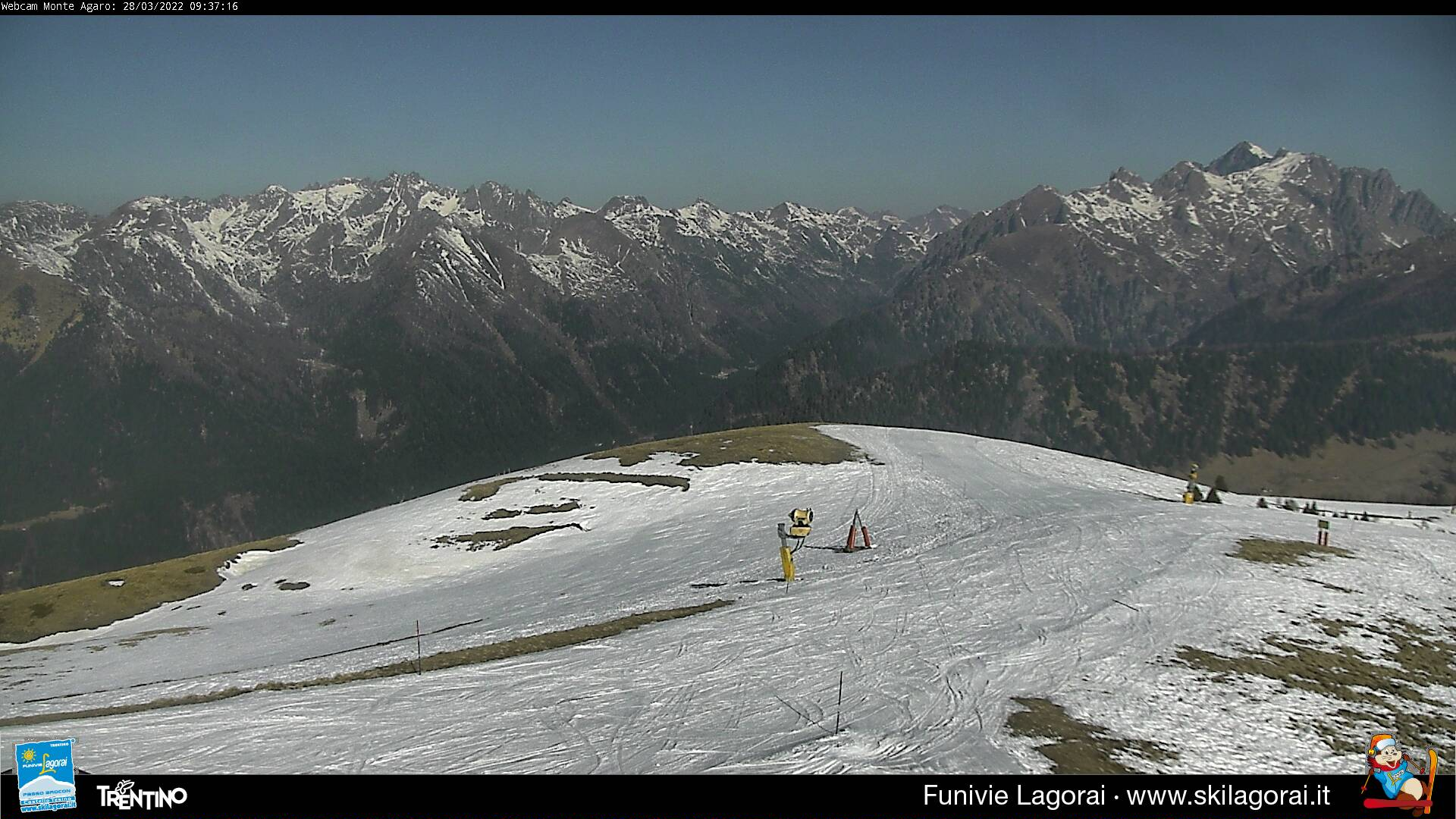 Webcam Monte Agaro