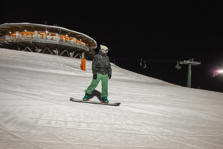 Notturna Snowboard Funivie Lagorai a Passo Brocon (TN) 3