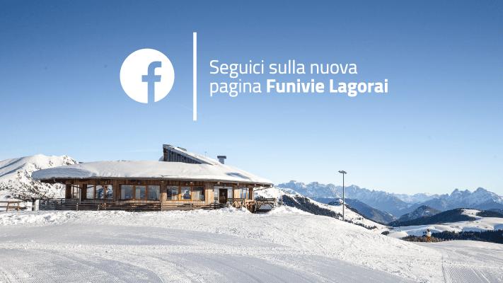Funivie Lagorai - Seguici su Facebook