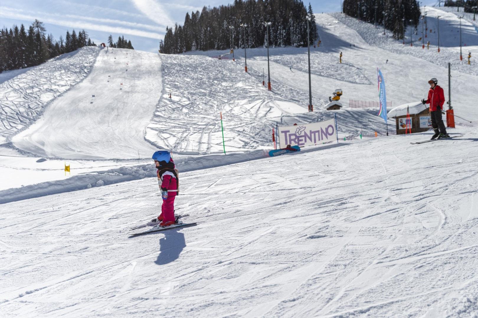 ski area Funivie Lagorai a Passo Brocon 1