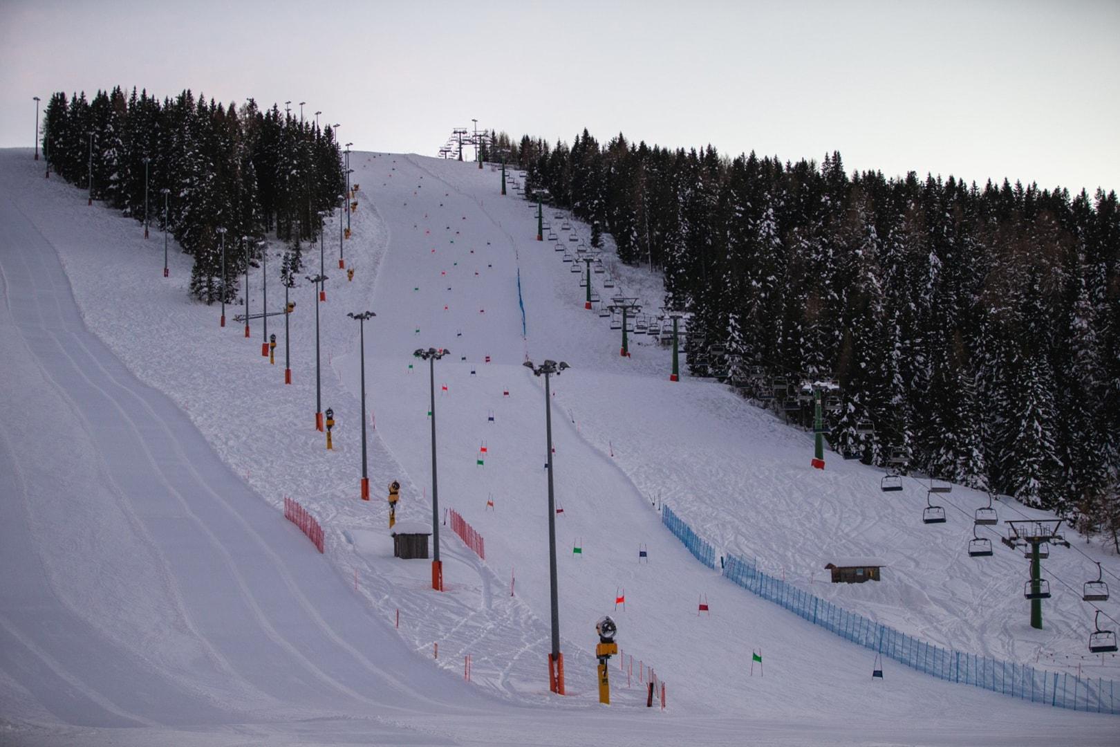 ski area Funivie Lagorai a Passo Brocon 3