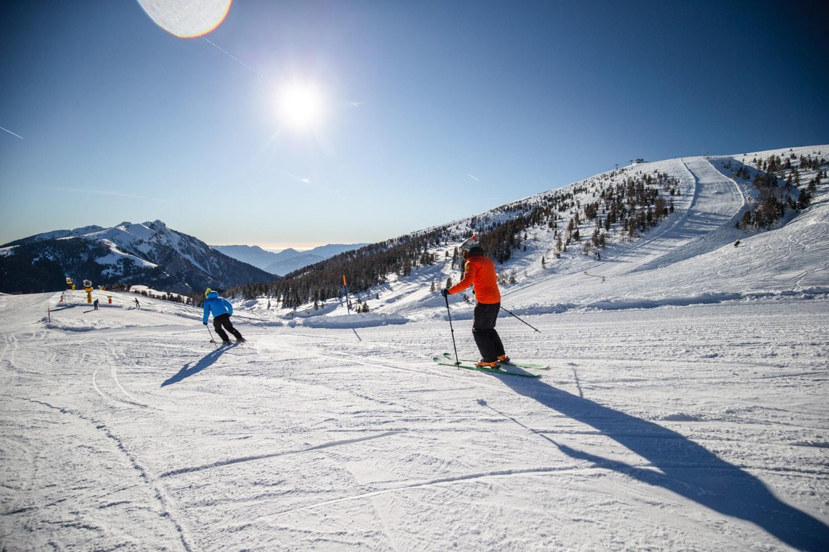 ski area Funivie Lagorai a Passo Brocon 5