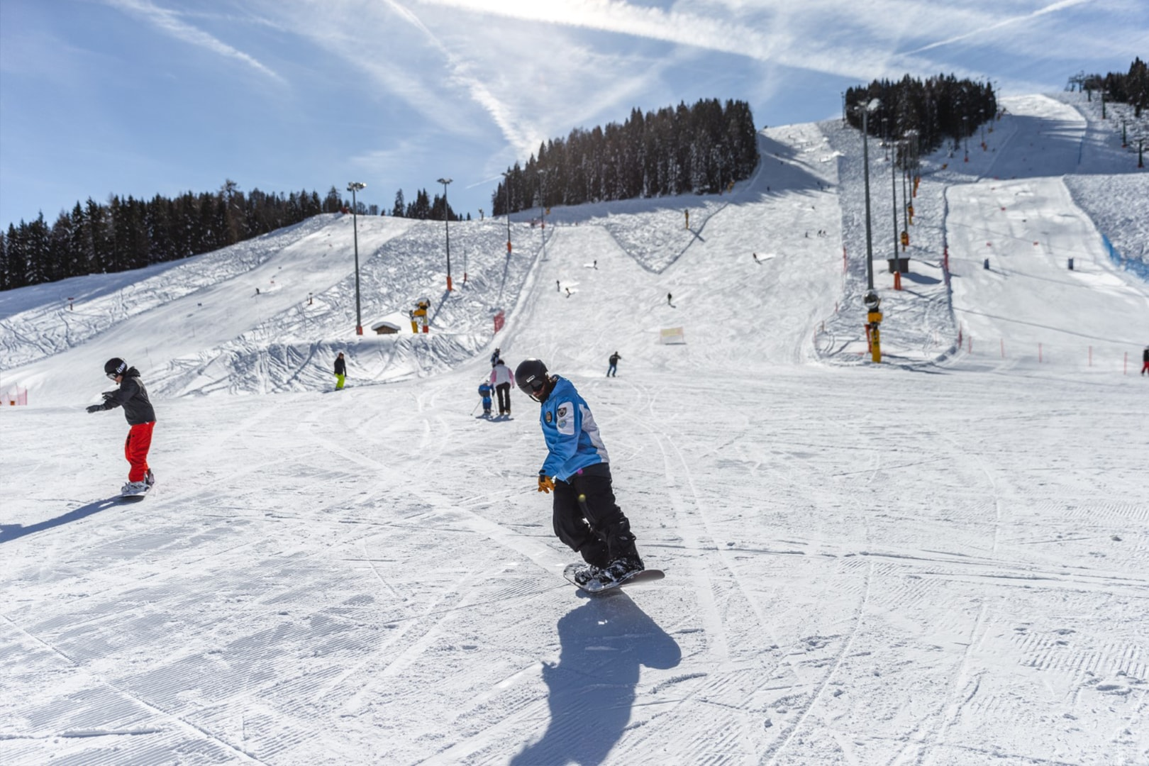 ski area Funivie Lagorai a Passo Brocon 6